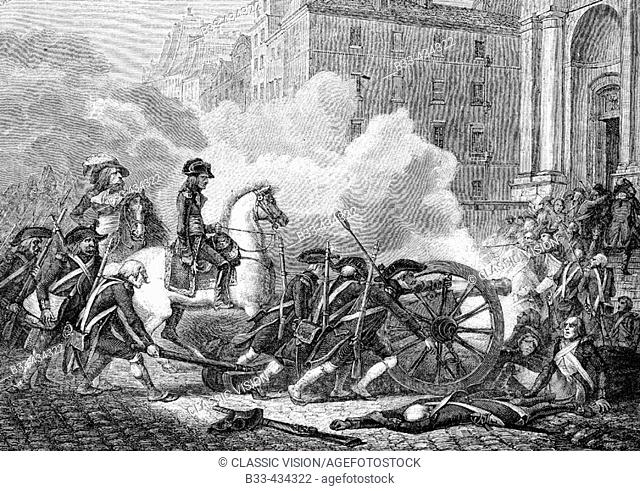 Defeat of the sections, 23 May 1795. From 'Histoire de la Revolution Francaise' by Louis Blanc