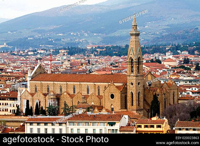 Basilic of Santa Croce. Florence