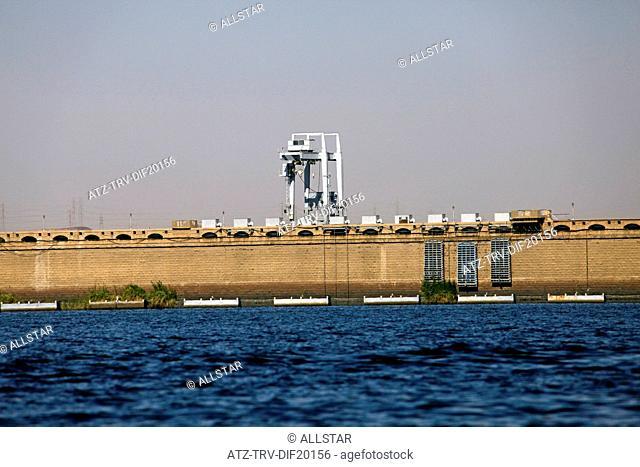 HIGH DAM & LAKE NASER; ASWAN, EGYPT; 10/01/2013