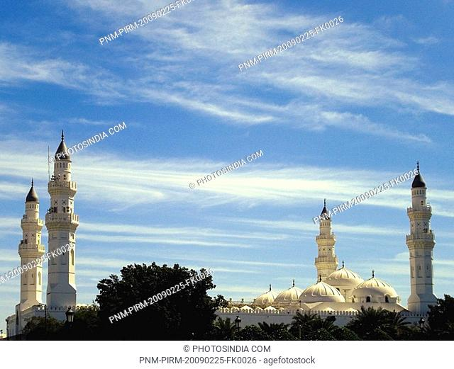 Low angle view of a mosque, Al-Haram Mosque, Mecca, Saudi Arabia