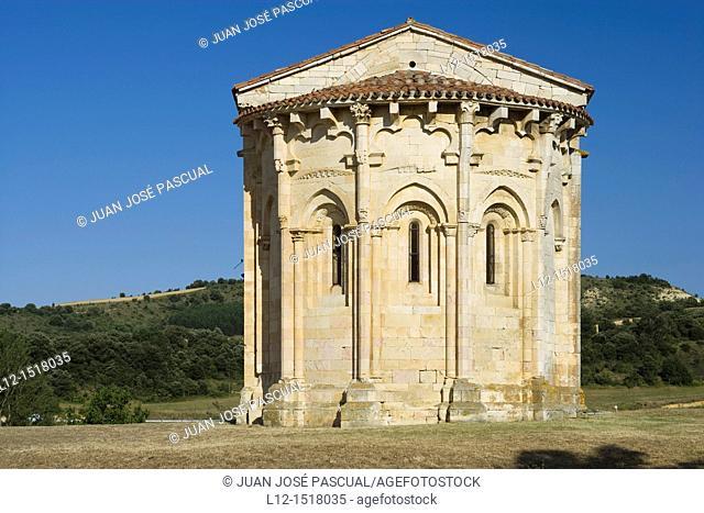 Saint Vicentejo Church, Treviño County, Burgos province, Castille-Leon, Spain