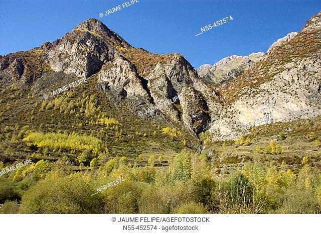 Benasque Valley. Huesca province, Aragón. Spain