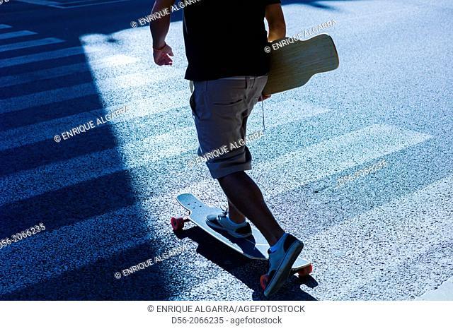 urban skater, Valencia, Spain