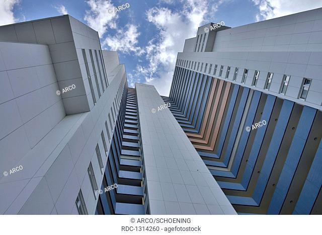 Wohnhochhaus Ideal, Fritz-Erler-Allee 120, Gropiusstadt, Neukoelln, Berlin, Deutschland