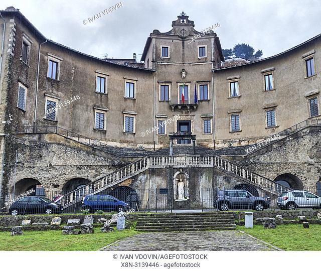 Palazzo Colonna Barberini, Archaeological Museum, Palestrina, Lazio, Italy