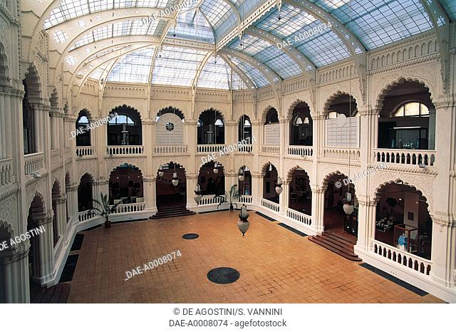 The atrium of the Museum of Applied Arts, 1896, Budapest, Hungary
