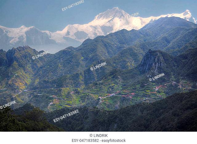 views of Mount Annapurna Himalayas, Nepal, Asia
