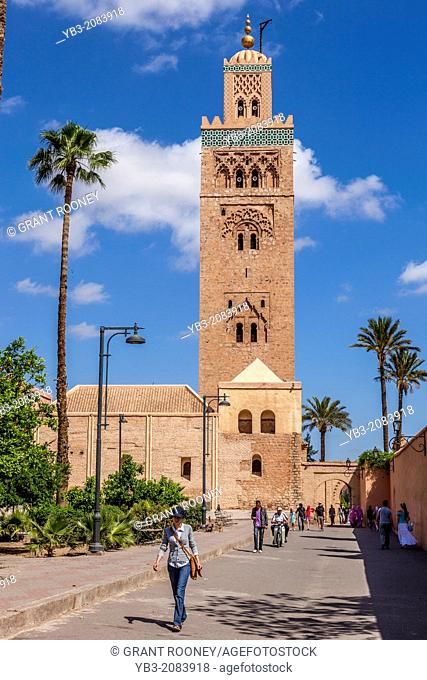 The Koutoubia Mosque, Marrakech, Morocco