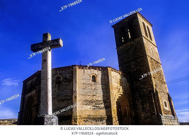La Vera Cruz church, Segovia, Castilla-Leon, Spain
