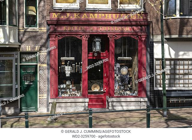 Netherlands, Gouda, 2017, The famous facades from the dutch town of Gouda. With itâ. . s red brick constructions and large windows