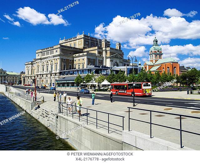 Stockholm, Royal Opera House, Jacob Kyrka, Church of St. Jacob, Sweden