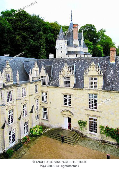Rigny-Usse, Castle, Chateau de Usse, Usse Castle, Indre-et-Loire, Pays de la Loire, Loire Valley, UNESCO World Heritage Site, France.