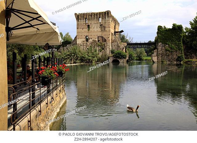 Comacchio, Po river, Delta Regional Park, Emilia Romagna, Italy