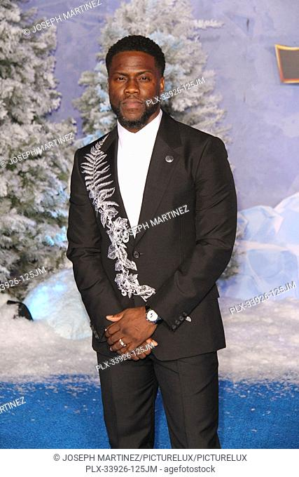 """Kevin Hart at Sony Pictures' """"""""Jumanji: The Next Level"""""""" World Premiere held at the TCL Chinese Theater in Hollywood, CA, December 9, 2019"""