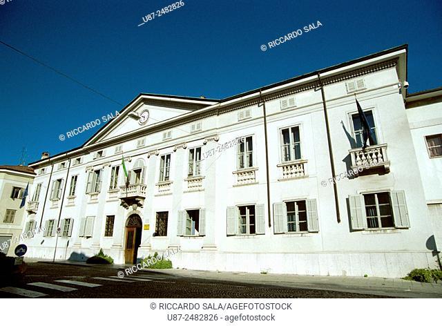 Italy, Friuli Venezia Giulia, Gorizia, Attems Santa Croce Palace, Town Hall. . . .