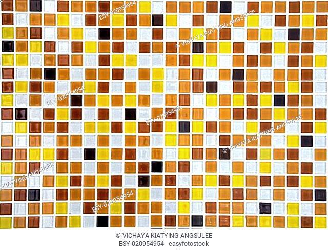 gold ceramic mosaic background