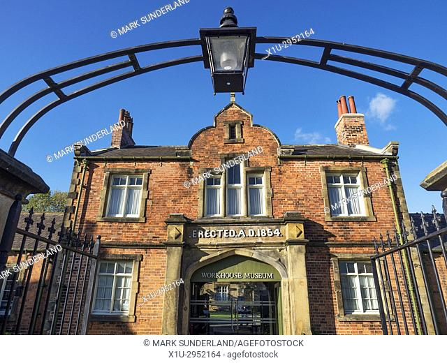 The Workshouse Museum in Allhallowgate Ripon Yorkshire England