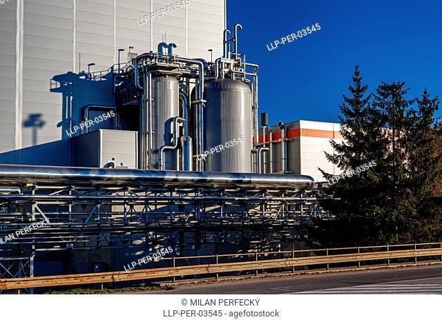 Paper manufacturing, Ruzomberok, Slovakia