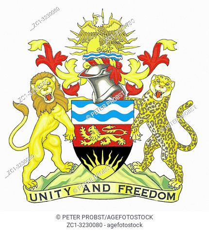 National coat of arms of the Republic of Malawi