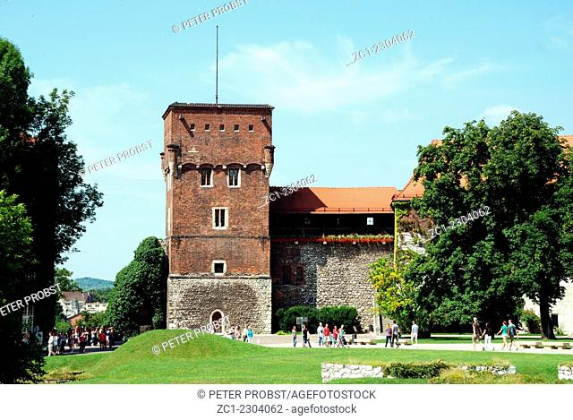 Wawel Hill of Krakow in Poland - Caution: For the editorial use only. Not for advertising or other commercial use!