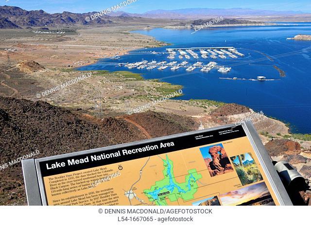 Lake Mead Recreation Area Las Vegas Nevada