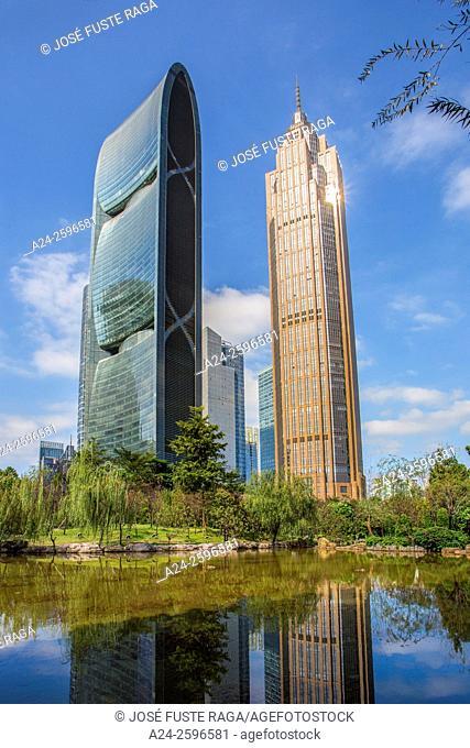 China, Guangdong Province, Guangzhou City, Wuyan New Town, Pearl River Tower
