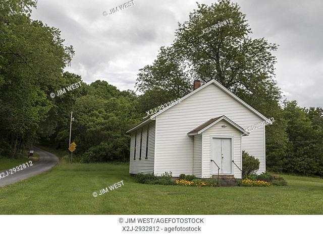 Indiana, Pennsylvania - Stake Church in Yellow Creek State Park. The church was built in the 1800s by early settlers in the area
