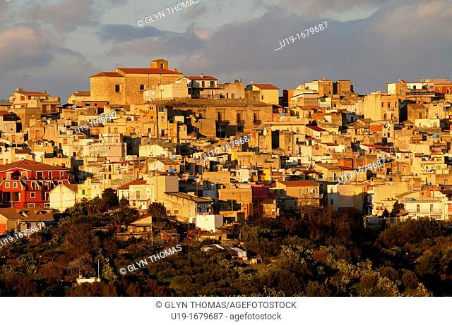 Regalbuto, town in the province of Enna, Sicily, Italy