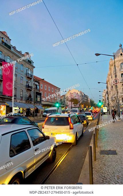 Rua Palma, at Largo do Intendente, Mouraria, Lisbon, Portugal