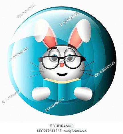 Funny emoticon cartoon design, vector illustration graphic
