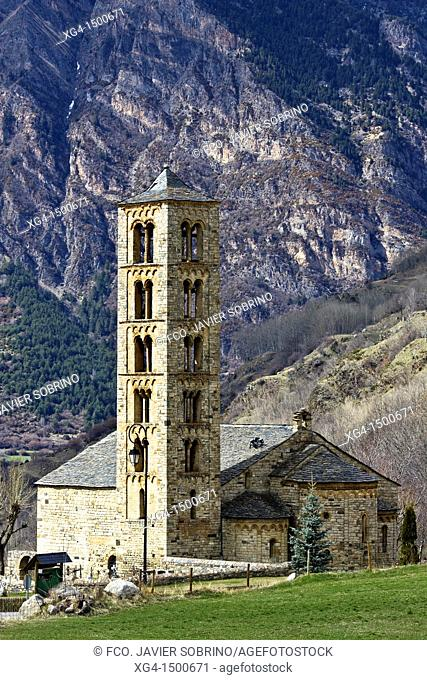 Romanesque church of Sant Climent - Taüll - Vall de Boi - Pyrenees - Lleida Province - Catalonia - Cataluña - Spain