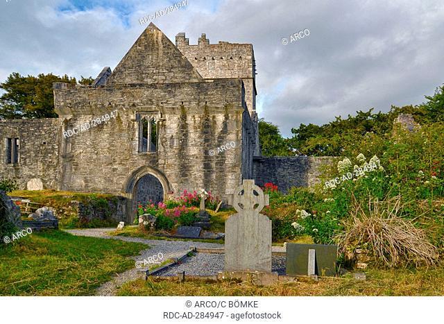 Muckross Abbey, Killarney, County Kerry, Ireland