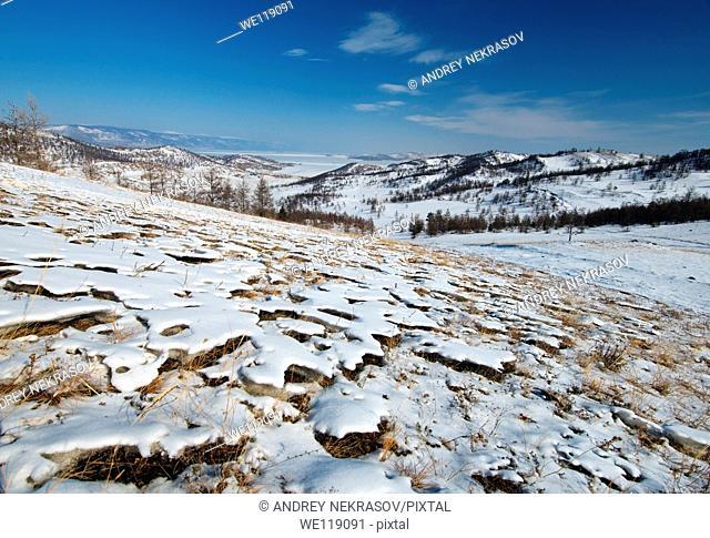 landscape, Baikal, Siberia, Russian Federation, Eurasia
