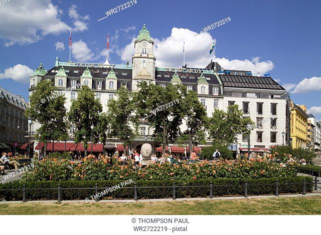 90900216, Grand Hotel, Karl Johans Gate, Oslo, Nor