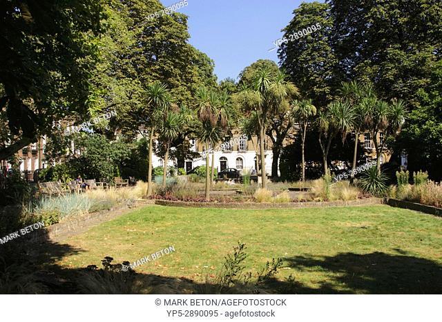 Park at Canonbury Square Islington London