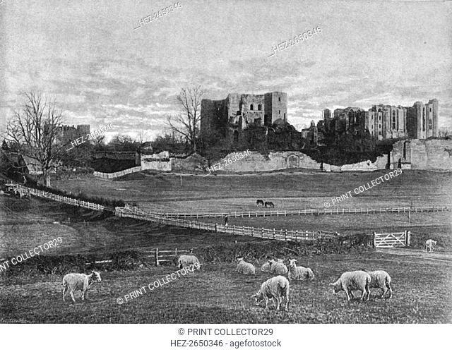 Kenilworth Castle, c1900. Artist: Grayson Clarke