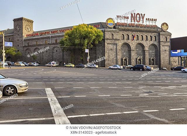 Noy Brandy factory (1961), Yerevan, Armenia