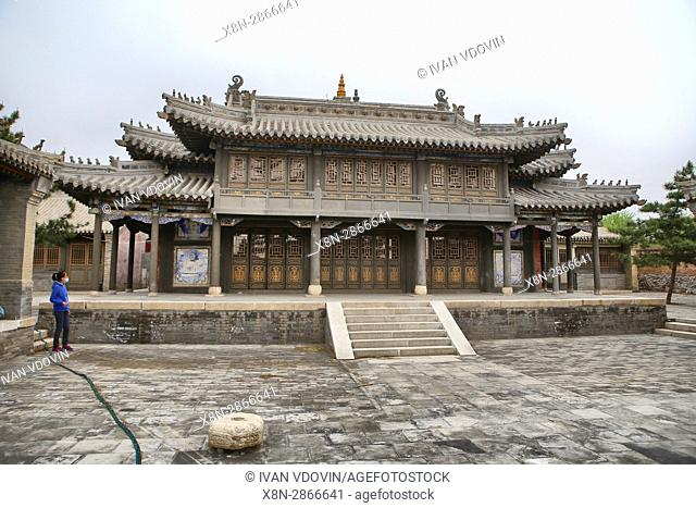 Wusutu-zhao monastery, Hohhot, Inner Mongolia, China