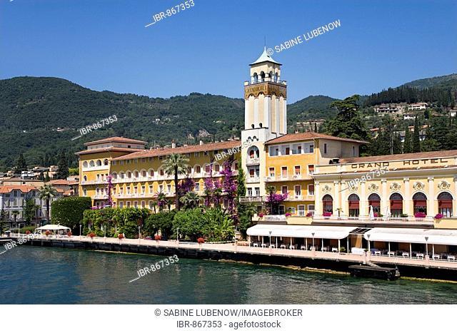 Grand Hotel, Gardone Riviera, Lake Garda, Lombardy, Italy, Europe