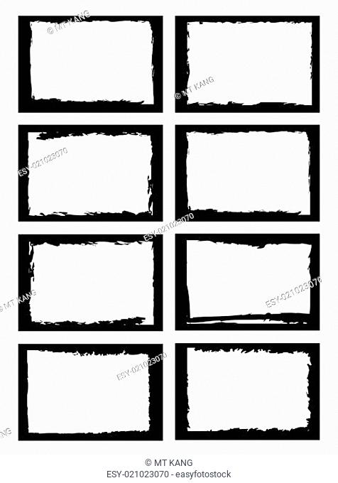 grunge borders or frames