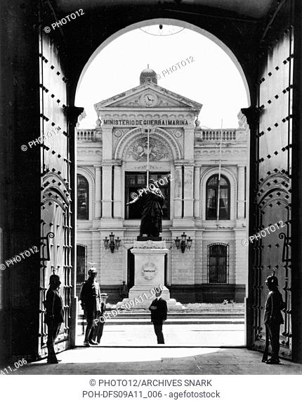Santiago. The Moneda Palace 1920 Chile Washington. Library of Congress