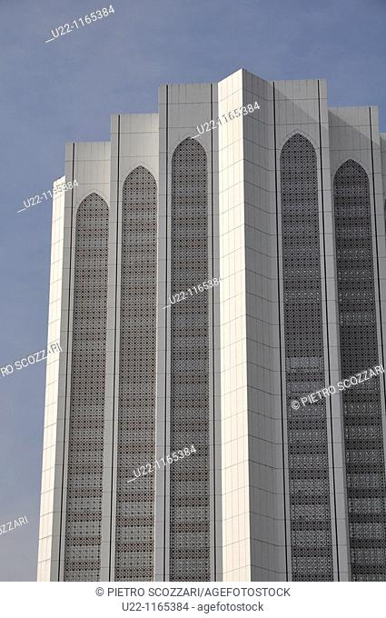 Kuala Lumpur (Malaysia): modern skyscraper seen from Merdeka Square