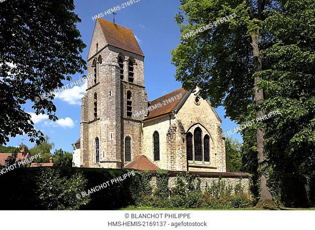 France, Essonne, Chamarande, St. Quentin church