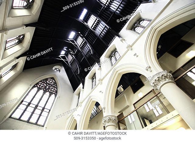 Ireland, Dublin, Suffolk Street, The interior of the Dublin Tourism Office