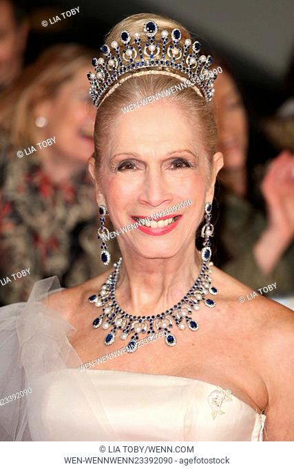 The National Television Awards 2016 (NTA's) held at the O2 Arena - Arrivals Featuring: Lady Colin Campbell, Lady C Where: London