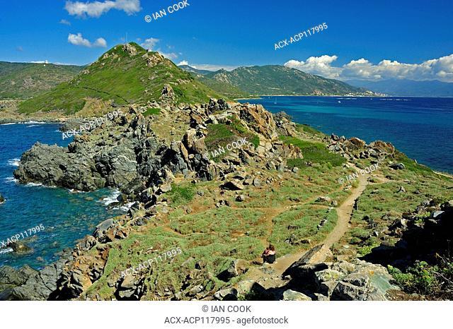 Parata Peninsula, Ajaccio, Corsica, France