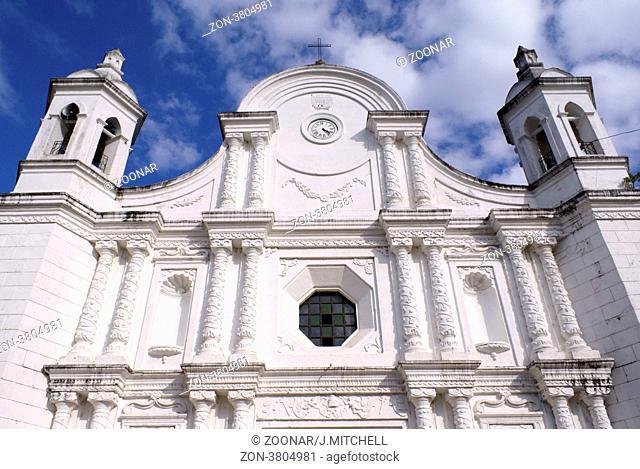 Church in Santa Rosa de Copan, Honduras