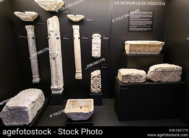 Museo de los Concilios y la Cultura Visigoda, Iglesia de San Román, Toledo, Castilla-La Mancha, Spain