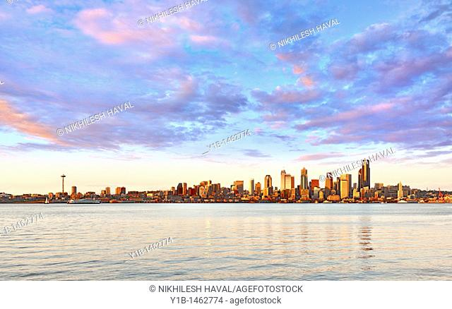2010 Seattle Skyline, Washington