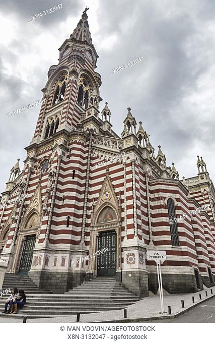 Santuario Nuestra Senora del Carmen, Historical centre, Bogota, Colombia